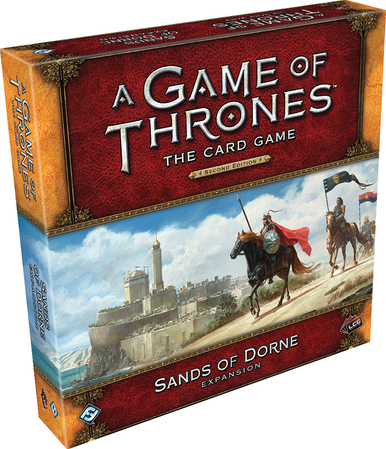 A Game Of Thrones Lcg: 2nd Edition - Sands Of Dorne Expansion Box Front