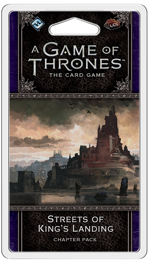A Game Of Thrones Lcg: 2nd Edition - Streets Of King`s Landing Chapter Pack Box Front