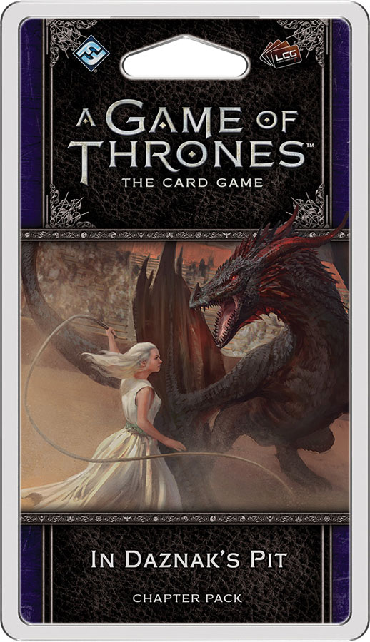 A Game Of Thrones Lcg: 2nd Edition - In Daznak`s Pit Chapter Pack Game Box