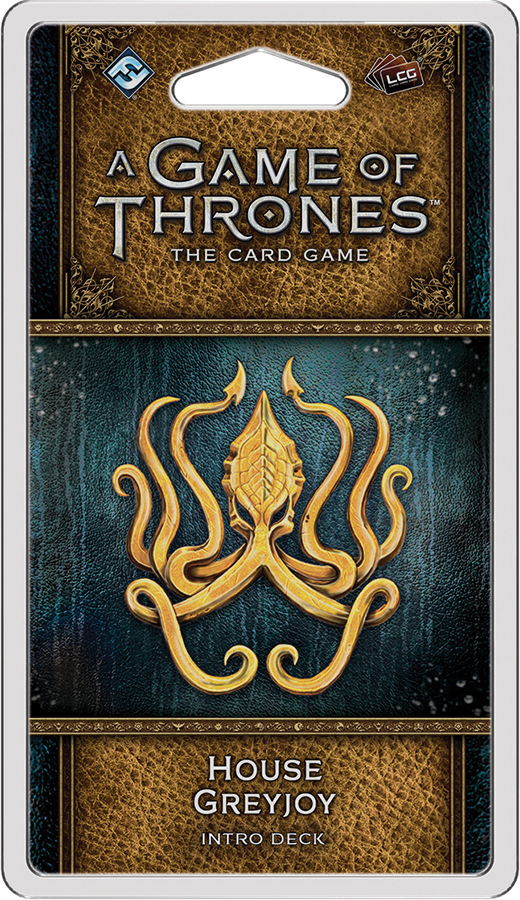 A Game Of Thrones Lcg: 2nd Edition - House Greyjoy Intro Deck Box Front