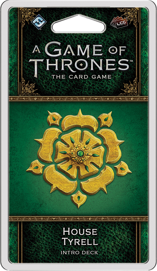 A Game Of Thrones Lcg: 2nd Edition - House Tyrell Intro Deck Box Front