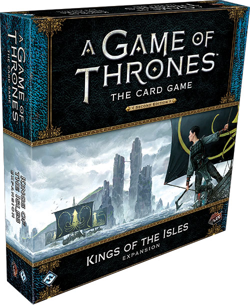 A Game Of Thrones Lcg: 2nd Edition - King Of The Isles Expansion Game Box