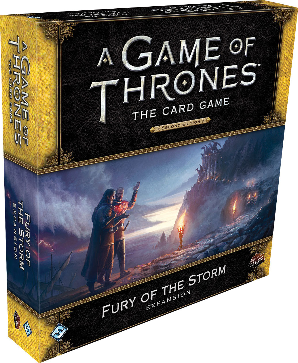 A Game Of Thrones Lcg: 2nd Edition - Fury Of The Storm Expansion Game Box