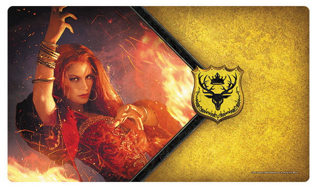 A Game Of Thrones Lcg: 2nd Edition - The Red Woman Playmat Box Front