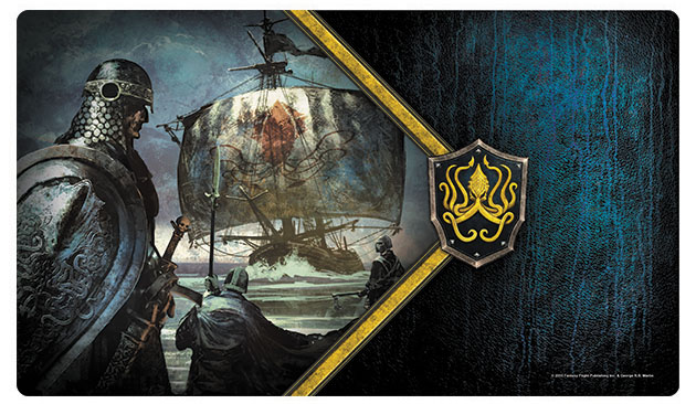 A Game Of Thrones Lcg: 2nd Edition - Ironborn Reavers Playmat Box Front