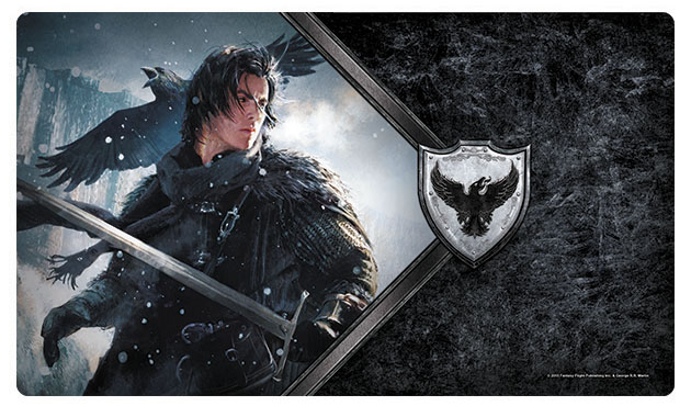 A Game Of Thrones Lcg: 2nd Edition - The Lord Commander Playmat Box Front