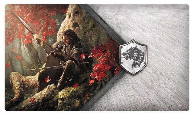 A Game Of Thrones Lcg: 2nd Edition - The Warden Of The North Playmat Box Front