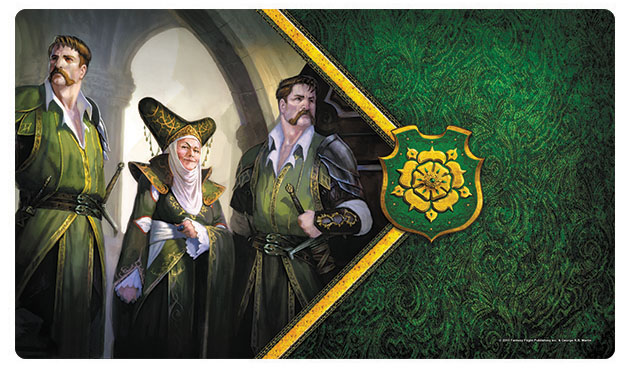 A Game Of Thrones Lcg: 2nd Edition - The Queen Of Thorns Playmat Box Front