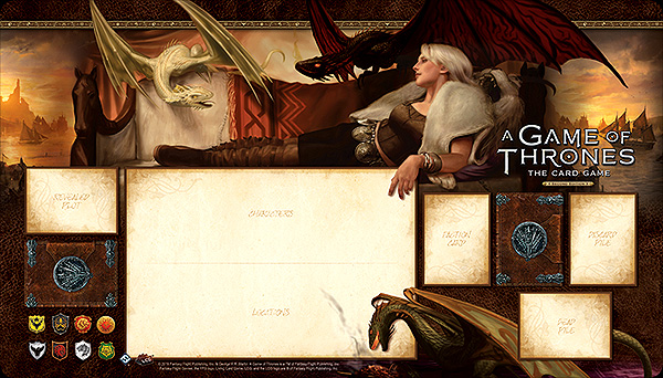 A Game Of Thrones Lcg: 2nd Edition - Stormborn Playmat Box Front