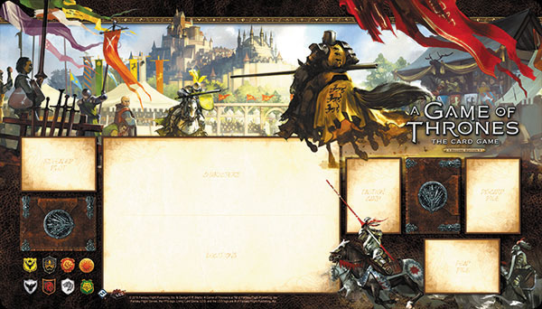 A Game Of Thrones Lcg: 2nd Edition - Knights Of The Realm Playmat Box Front
