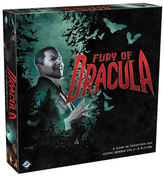 Fury Of Dracula (third Edition) Box Front