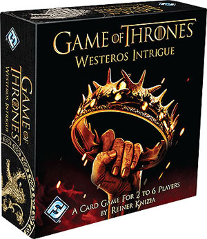 A Game Of Thrones: Westeros Intrigue Box Front