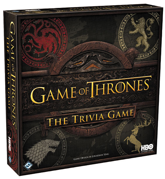 Hbo Game Of Thrones: The Trivia Game Box Front
