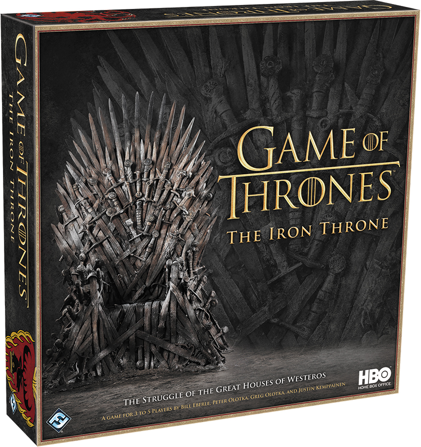Game Of Thrones: The Iron Throne Box Front