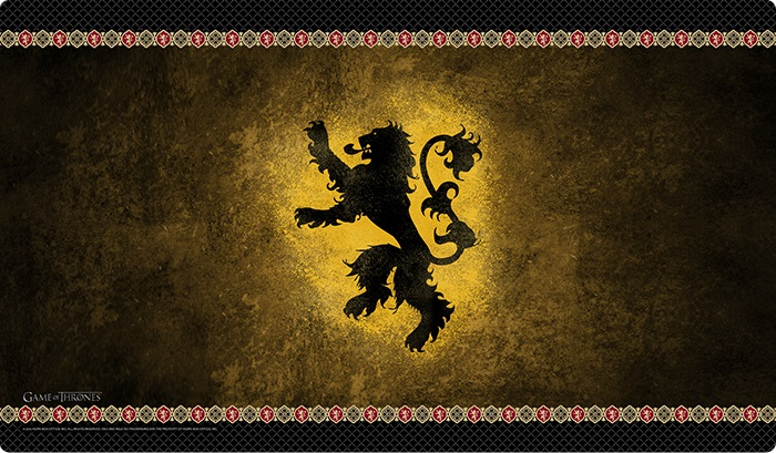 A Game Of Thrones: House Lannister Playmat (hbo Edition) Box Front