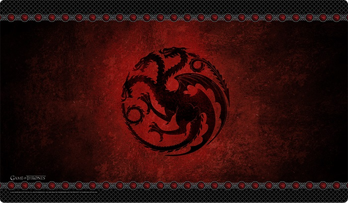A Game Of Thrones: House Targaryen Playmat (hbo Edition) Box Front