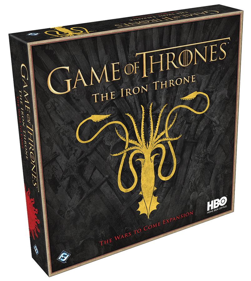 Game Of Thrones: The Iron Throne - The Wars To Come Expansion Box Front