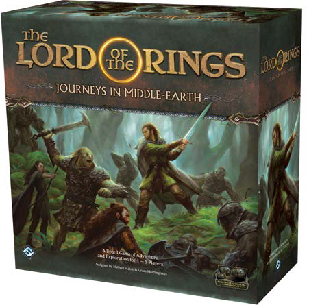 The Lord Of The Rings: Journeys In Middle-earth Game Box