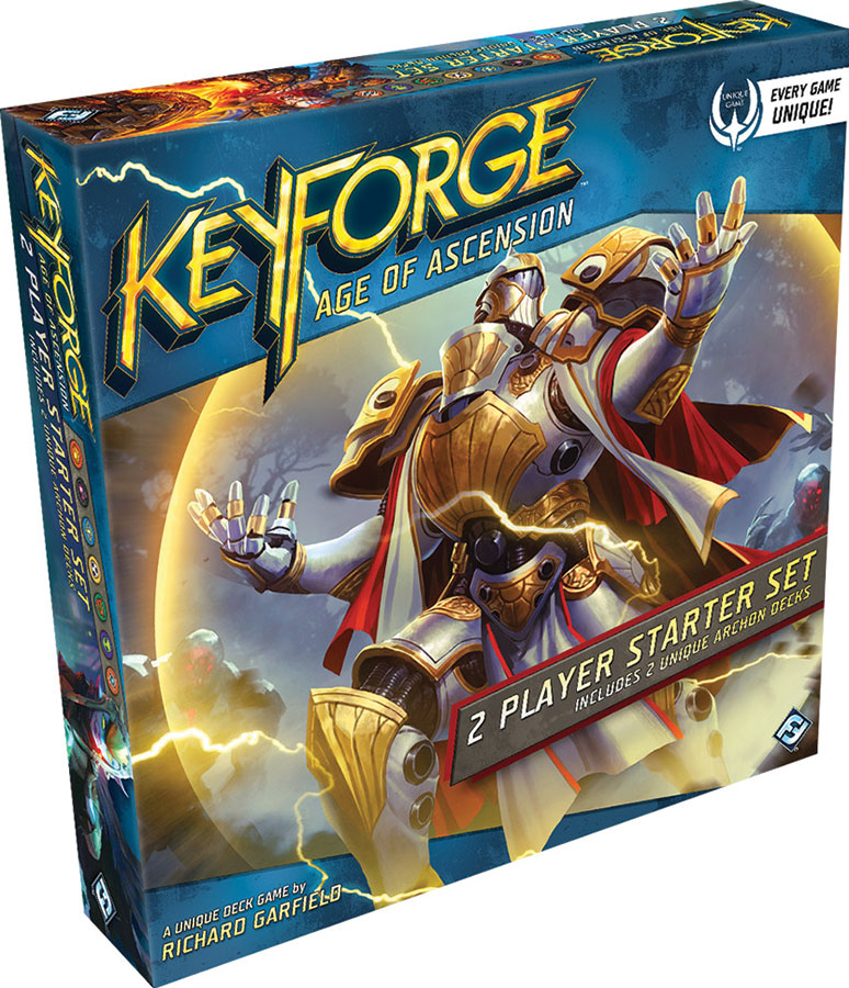 Keyforge: Age Of Ascension Two-player Starter Game Box