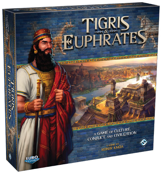 Tigris And Euphrates Box Front