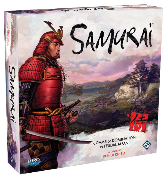 Samurai Board Game Box Front