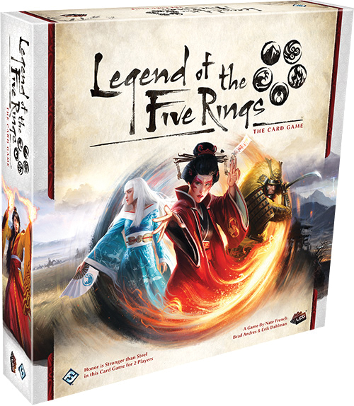 Legend Of The Five Rings Lcg: Core Set Box Front