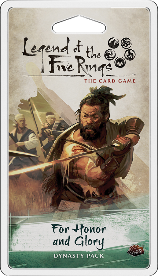 Legend Of The Five Rings Lcg: For Honor And Glory Dynasty Pack Box Front