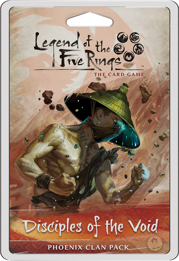 Legend Of The Five Rings Lcg: Disciples Of The Void - Phoenix Clan Pack Box Front