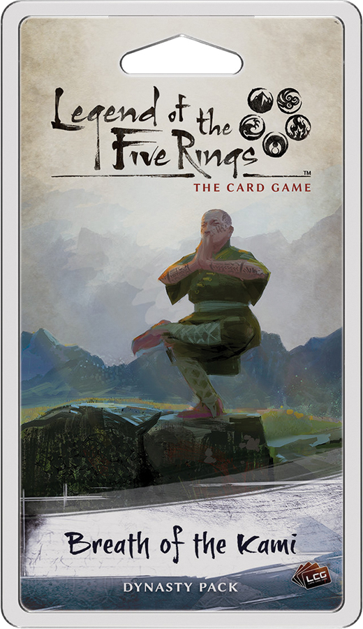 Legend Of The Five Rings Lcg: Breath Of The Kami Dynasty Pack Box Front