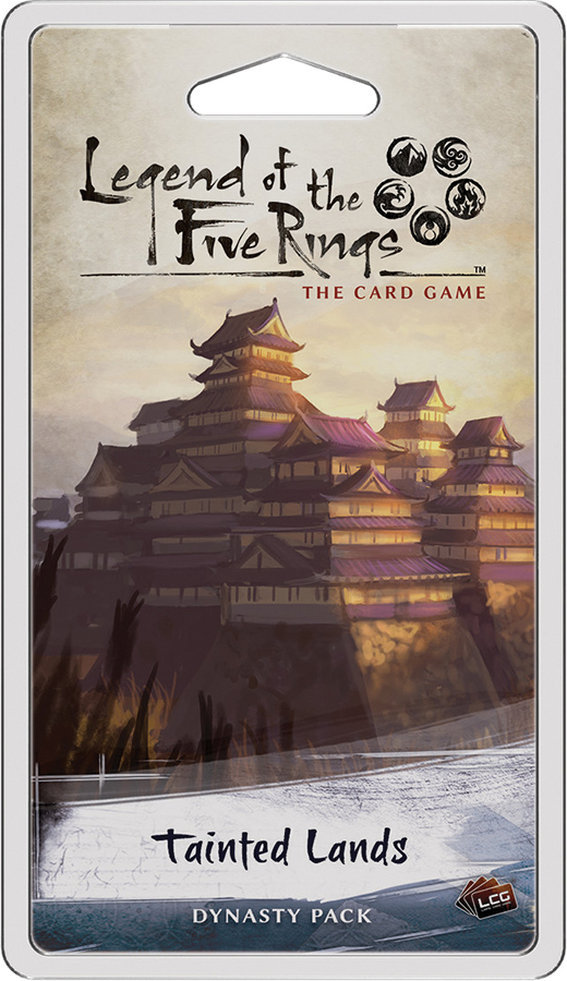 Legend Of The Five Rings Lcg: Tainted Lands Dynasty Pack Box Front