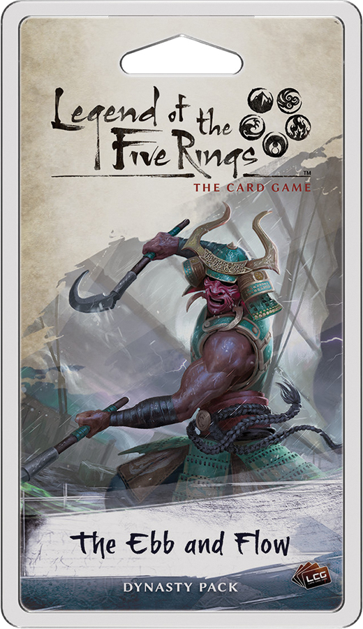 Legend Of The Five Rings Lcg: The Ebb And Flow Dynasty Pack Box Front