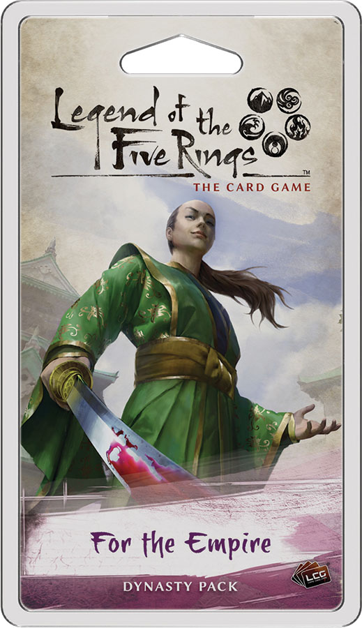 Legend Of The Five Rings Lcg: For The Empire Dynasty Pack Game Box