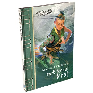 Legend Of The Five Rings: The Eternal Knot Hardcover Game Box