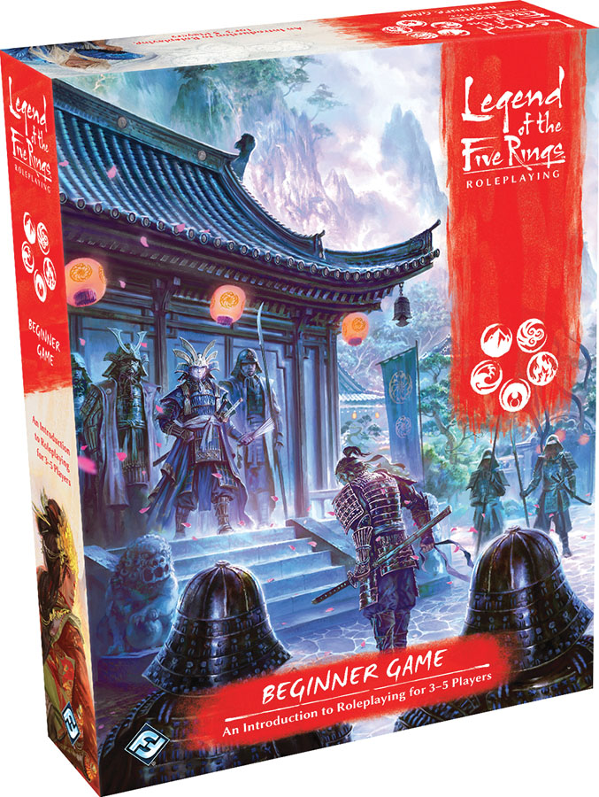 Legend Of The Five Rings Rpg: Beginner Game Box Front