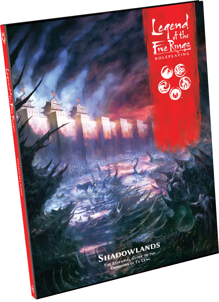 Legend Of The Five Rings Rpg: Shadowlands Hardcover Game Box