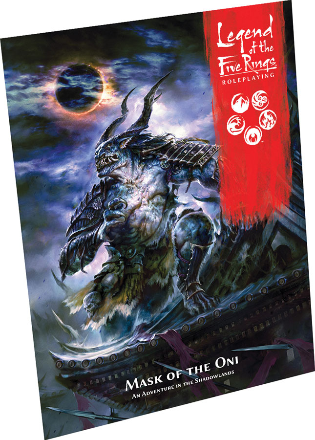 Legend Of The Five Rings Rpg: Mask Of The Oni Game Box