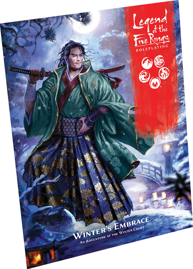 Legend Of The Five Rings Rpg: Winter`s Embrace Game Box