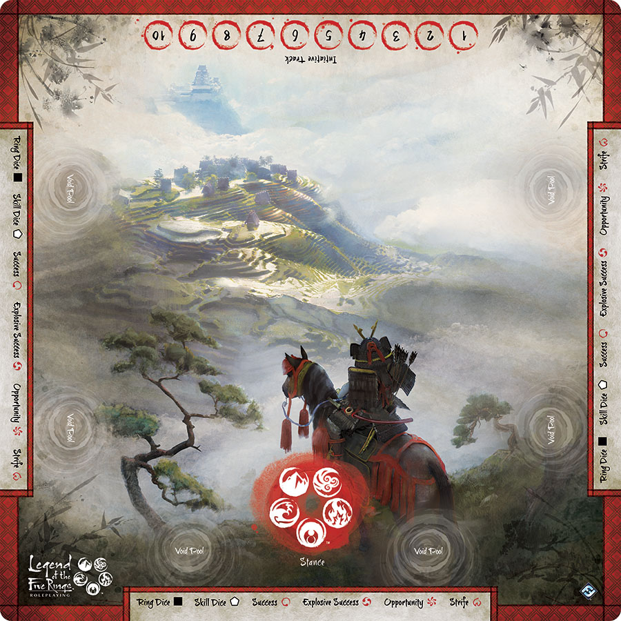Legend Of The Five Rings Rpg: Roleplaying Gamemat Game Box