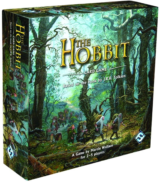 The Hobbit Card Game Box Front