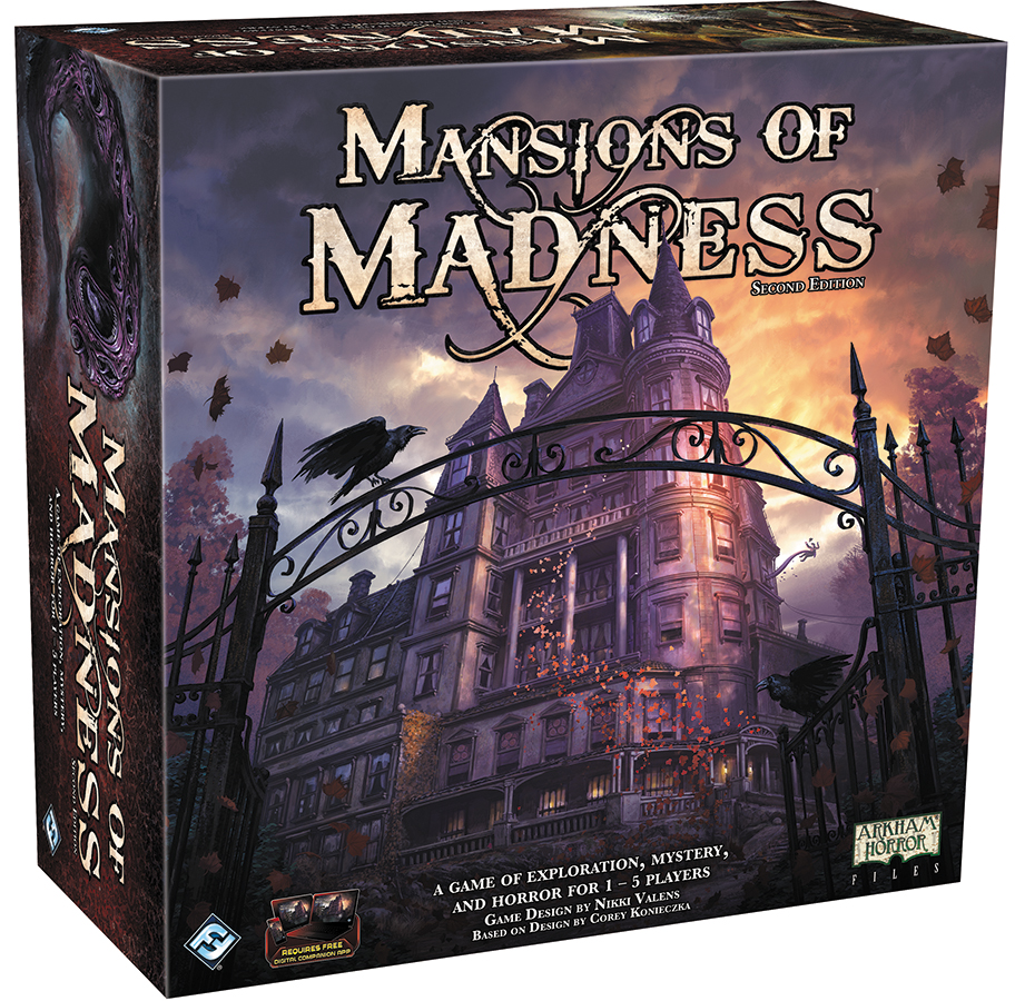 Mansions Of Madness 2nd Edition Box Front