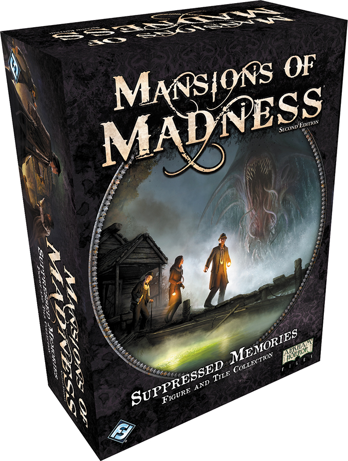 Mansions Of Madness 2nd Edition: Suppressed Memories Figure And Tile Collection Box Front