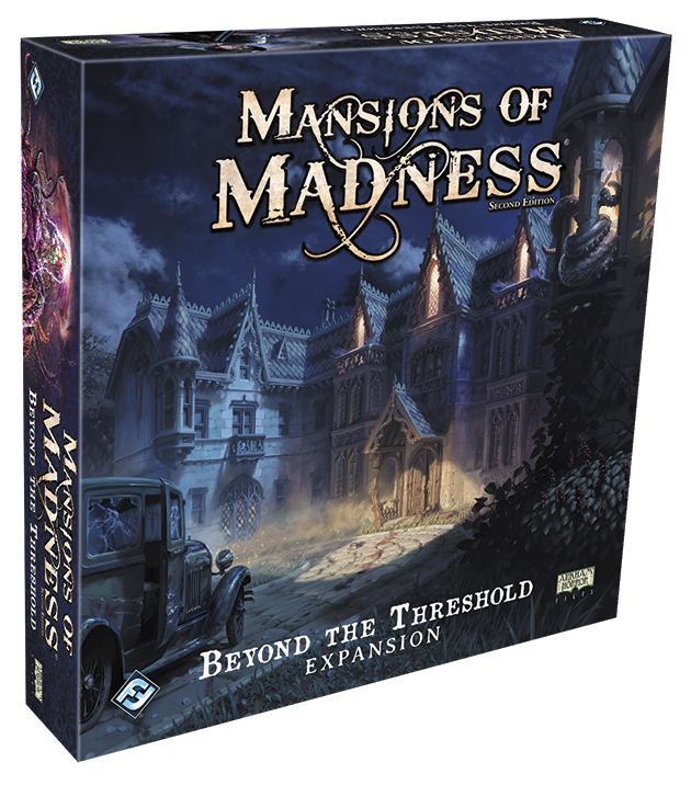 Mansions Of Madness 2nd Edition: Beyond The Threshold Expansion Box Front