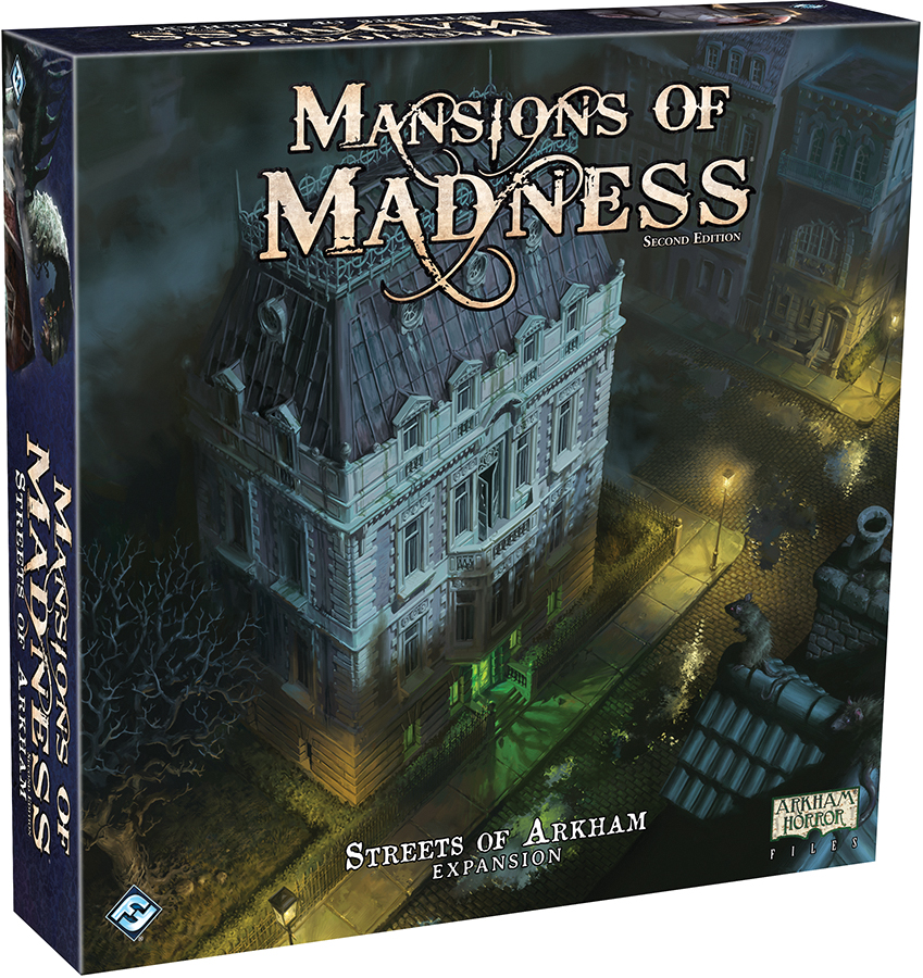 Mansions Of Madness 2nd Edition: Streets Of Arkham Expansion Box Front
