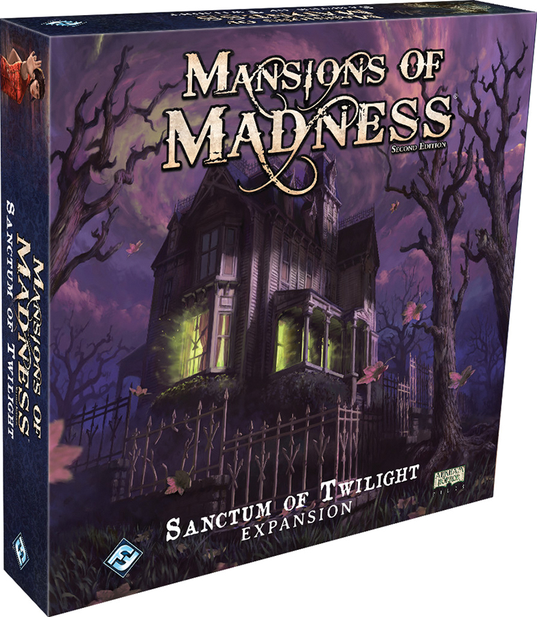 Mansions Of Madness 2nd Edition: Sanctum Of Twilight Expansion Box Front