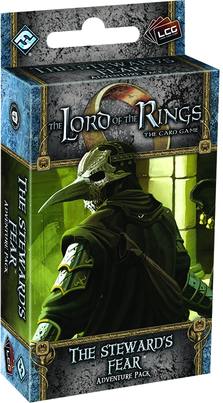The Lord Of The Rings Lcg: The Stewards Fear Adventure Pack Box Front