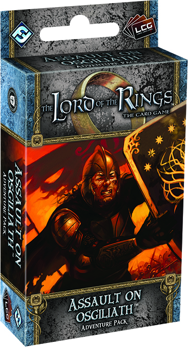 The Lord Of The Rings Lcg: Assault On Osgiliath Adventure Pack Box Front