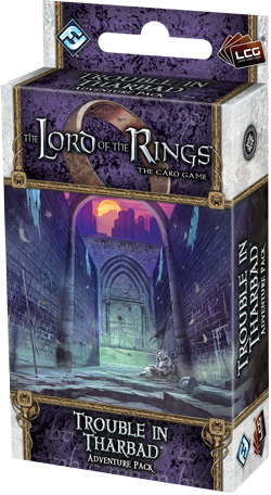 The Lord Of The Rings Lcg: Trouble In Tharbad Adventure Pack Box Front