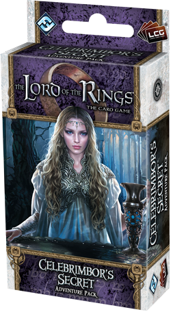 The Lord Of The Rings Lcg: Celebrimbors Secret Adventure Pack Box Front