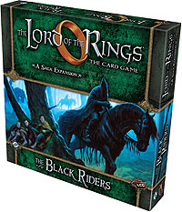 The Lord Of The Rings Lcg: The Black Riders Saga Expansion Box Front