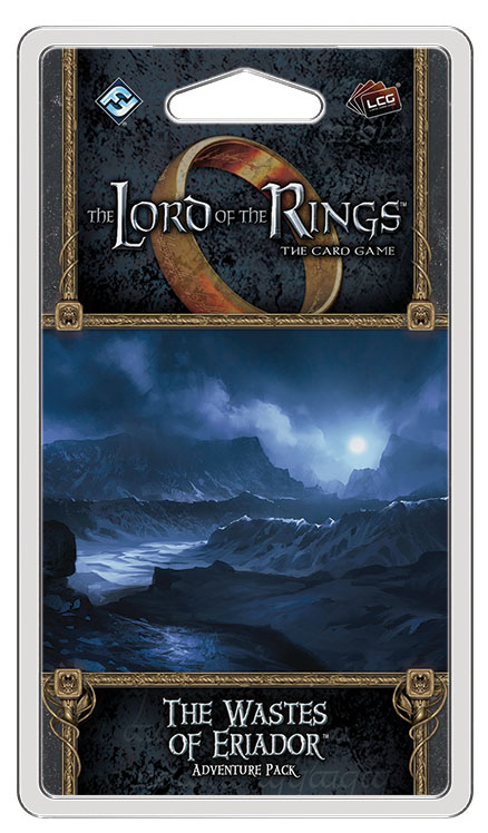 The Lord Of The Rings Lcg: The Wastes Of Eriador Adventure Pack Box Front